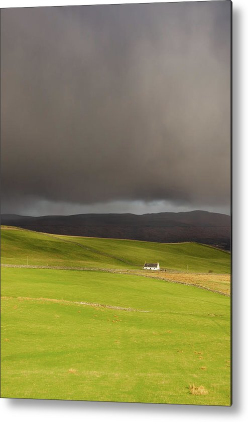 Durness Metal Print featuring the mixed media Calm Before The Storm by Smart Aviation
