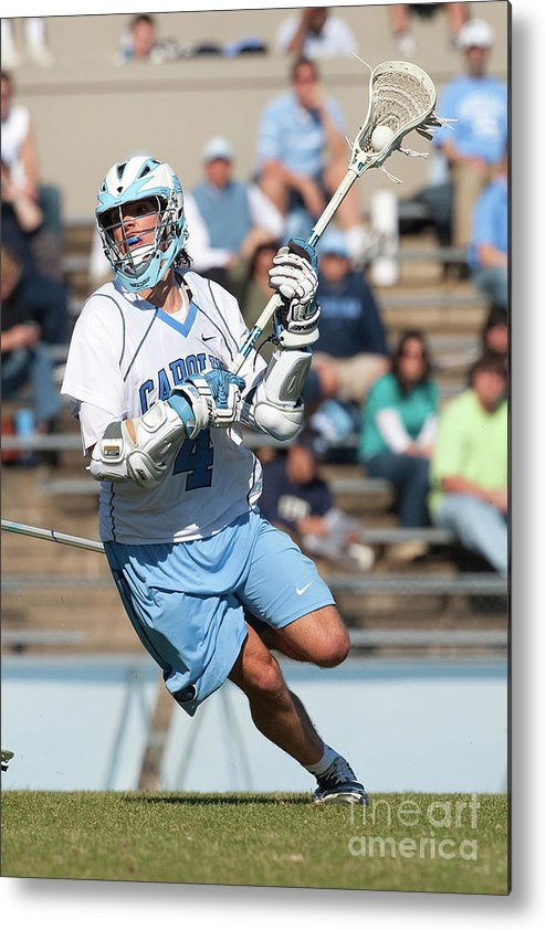 Education Metal Print featuring the photograph Lacrosse - Ncaa - Robert Morris Vs by Icon Sports Wire