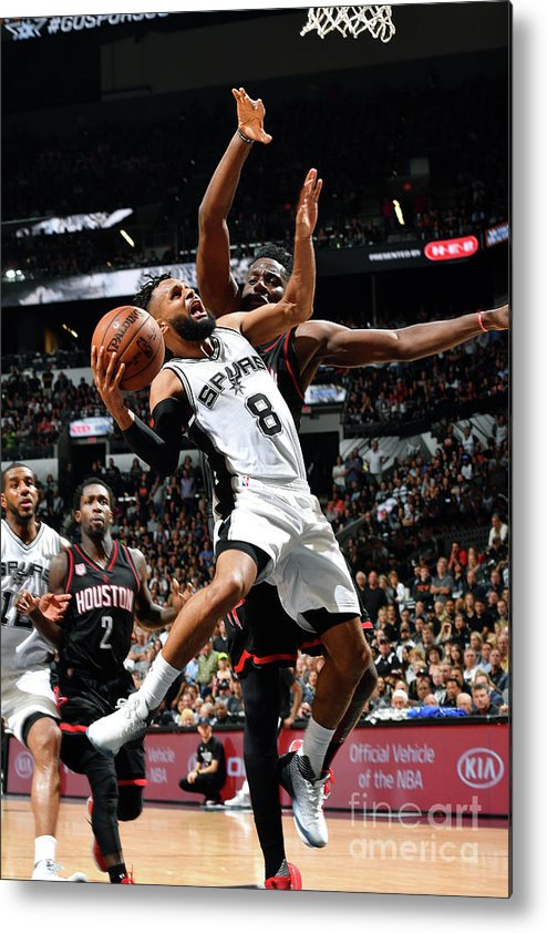 Playoffs Metal Print featuring the photograph Houston Rockets V San Antonio Spurs - by Jesse D. Garrabrant