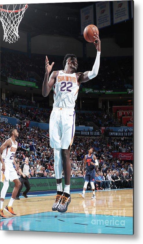 Nba Pro Basketball Metal Print featuring the photograph Phoenix Suns V Oklahoma City Thunder by Joe Murphy