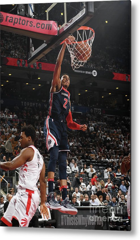Playoffs Metal Print featuring the photograph Washington Wizards V Toronto Raptors - by Ron Turenne