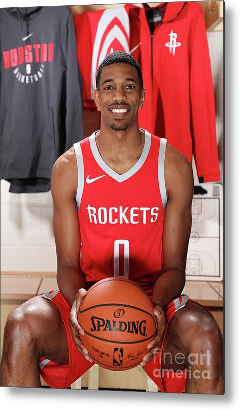 Nba Pro Basketball Metal Print featuring the photograph 2018 Nba Rookie Photo Shoot by Nathaniel S. Butler