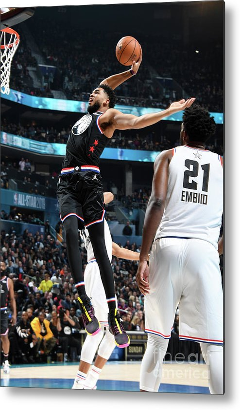 Nba Pro Basketball Metal Print featuring the photograph 2019 Nba All-star Game by Andrew D. Bernstein
