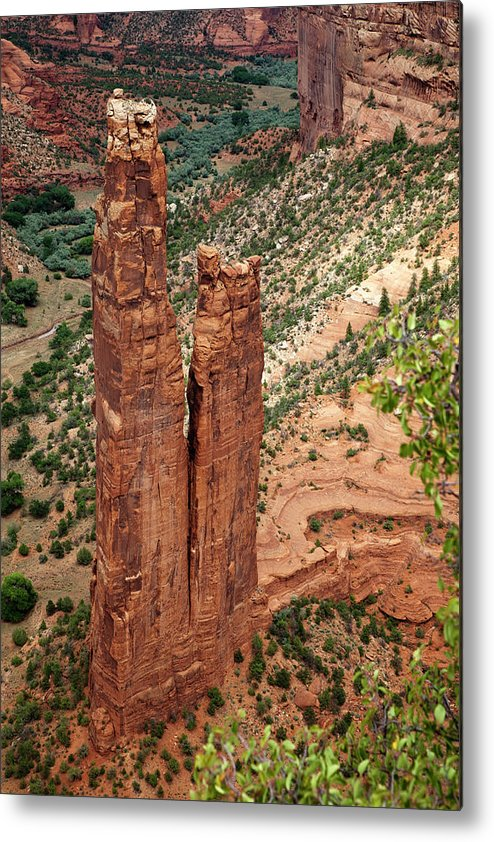 Scenics Metal Print featuring the photograph Canyon De Chelly by Win-initiative