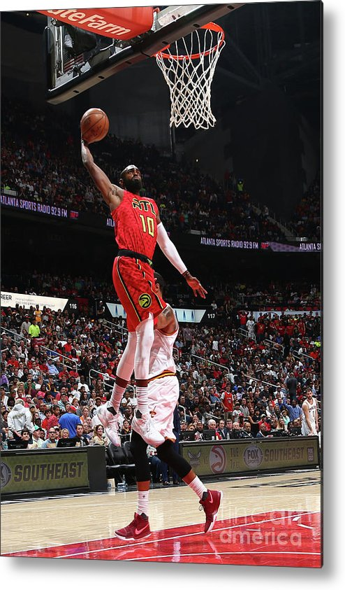 Atlanta Metal Print featuring the photograph Cleveland Cavaliers V Atlanta Hawks by Kevin Liles