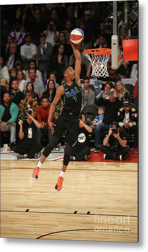 Event Metal Print featuring the photograph Verizon Slam Dunk Contest 2018 by Gary Dineen