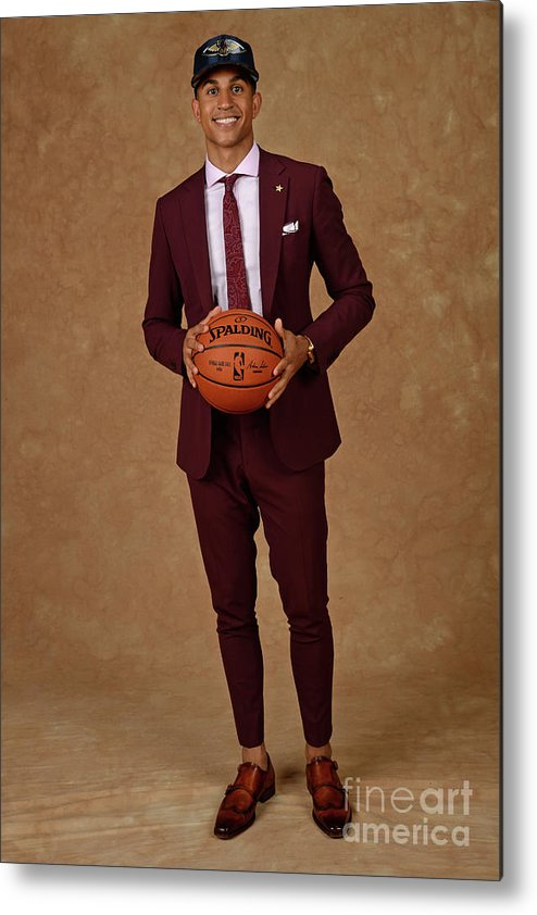 Nba Pro Basketball Metal Print featuring the photograph 2017 Nba Draft by Jennifer Pottheiser