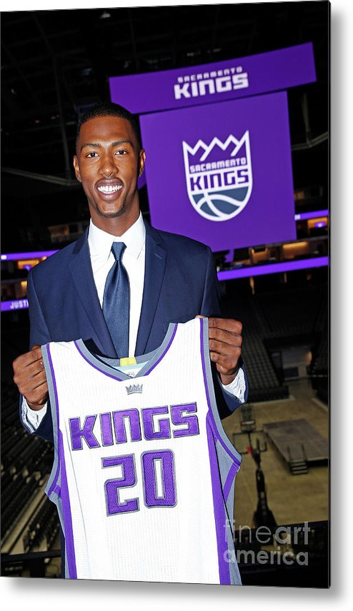 Nba Pro Basketball Metal Print featuring the photograph 2017 Sacramento Kings Draft Picks by Rocky Widner