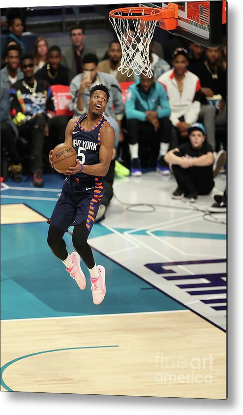 Nba Pro Basketball Metal Print featuring the photograph 2019 At&t Slam Dunk Contest by Kent Smith