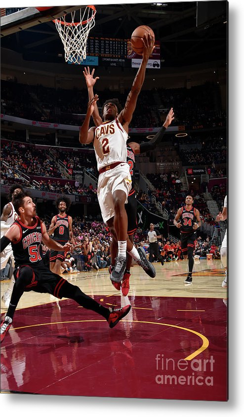 Nba Pro Basketball Metal Print featuring the photograph Chicago Bulls V Cleveland Cavaliers by David Liam Kyle