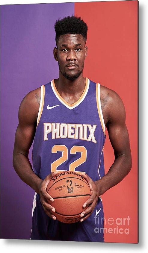 Nba Pro Basketball Metal Print featuring the photograph 2018 Nba Rookie Photo Shoot by Jennifer Pottheiser