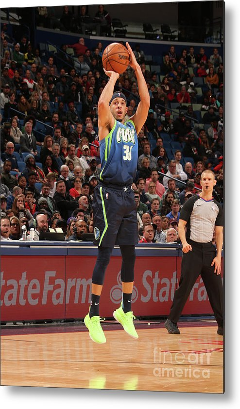 Smoothie King Center Metal Print featuring the photograph Dallas Mavericks V New Orleans Pelicans by Layne Murdoch Jr.