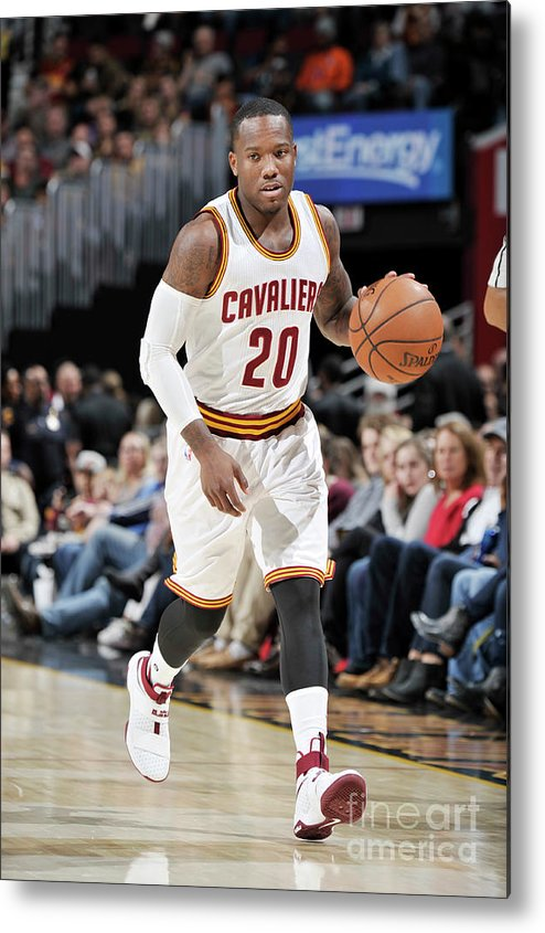 Nba Pro Basketball Metal Print featuring the photograph Memphis Grizzlies V Cleveland Cavaliers by David Liam Kyle