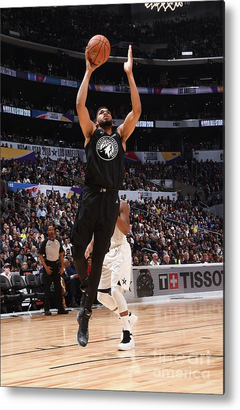 Nba Pro Basketball Metal Print featuring the photograph 2018 Nba All-star Game by Andrew D. Bernstein