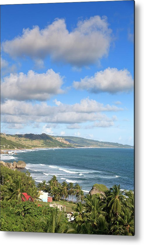 Scenics Metal Print featuring the photograph Bathsheba Bay, Barbados by Michele Falzone