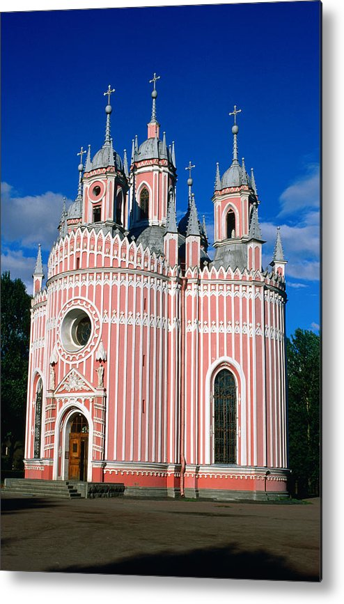 Gothic Style Metal Print featuring the photograph Candy Stripes Of Chesma Church, St by Lonely Planet