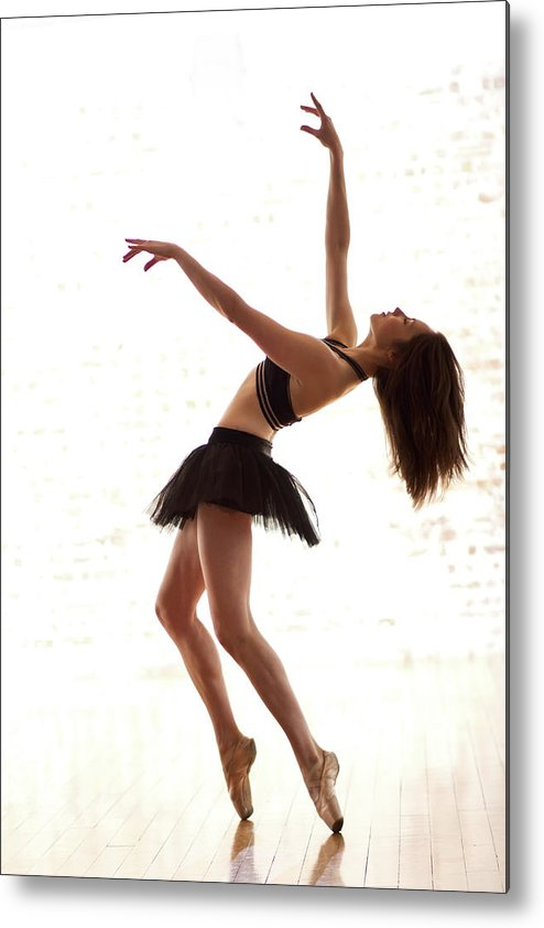 People Metal Print featuring the photograph Contemporary Dance Move by Phil Payne Photography