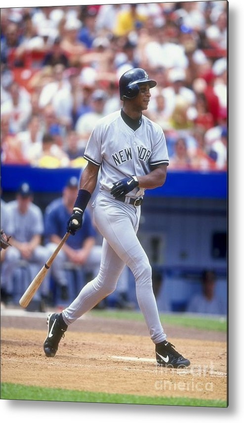People Metal Print featuring the photograph Darryl Strawberry 39 by David Seelig