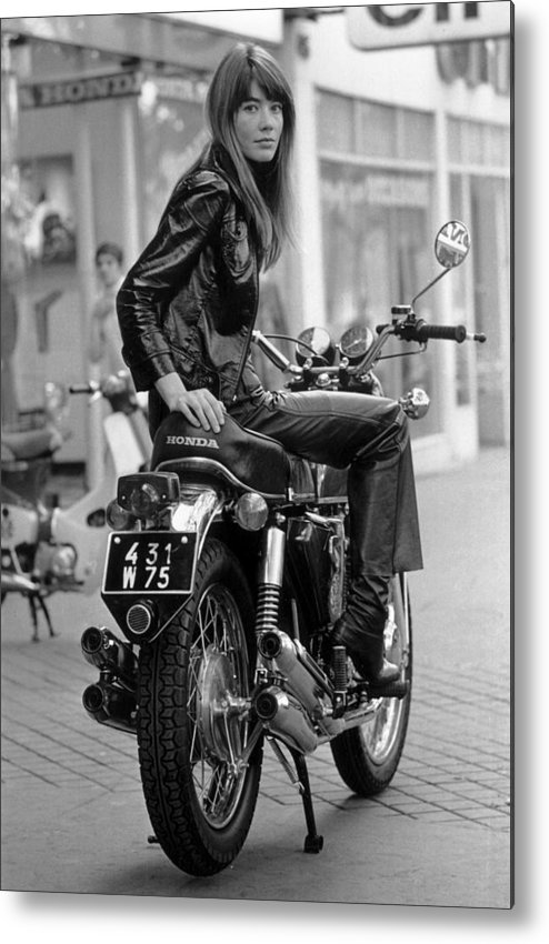 Singer Metal Print featuring the photograph Francoise Hardy by Reg Lancaster