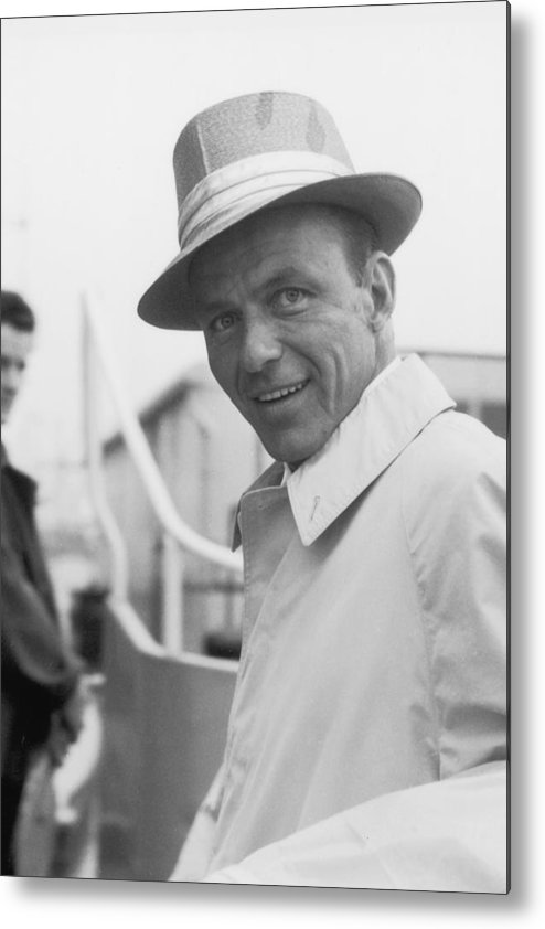 Singer Metal Print featuring the photograph Frank Sinatra by J. Wilds