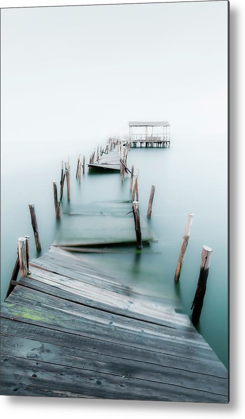 The End Metal Print featuring the photograph Jetty by Lt Photo