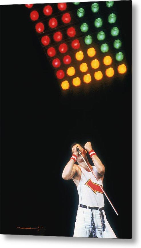Singer Metal Print featuring the photograph Mercury At Milton Keynes by Keystone