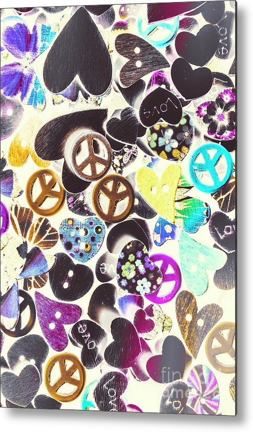 Funky Metal Print featuring the photograph Peace Revival by Jorgo Photography - Wall Art Gallery