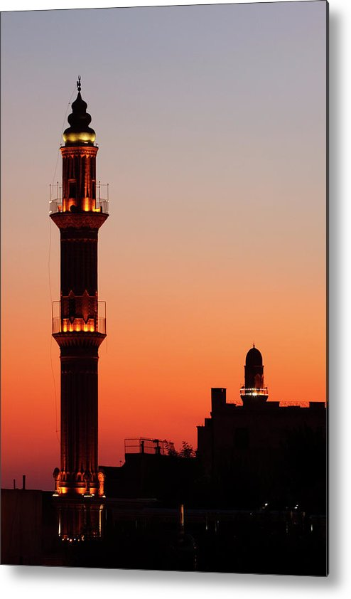 Built Structure Metal Print featuring the photograph Sehidiye Mosque Minaret by Wu Swee Ong