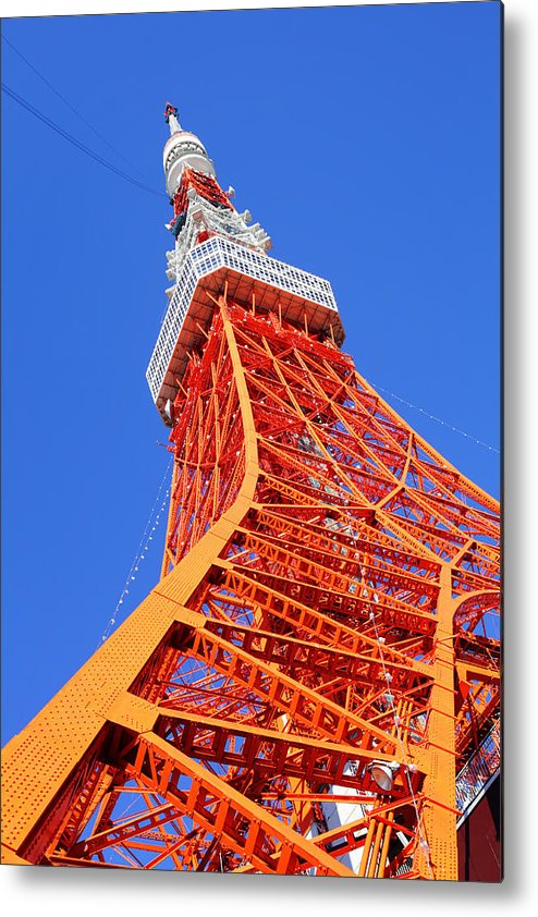 Tokyo Tower Metal Print featuring the photograph Tokyo Tower by Ngkaki