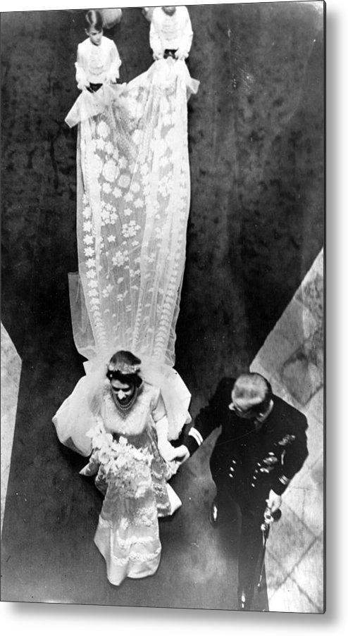 Child Metal Print featuring the photograph Wedding Train by Keystone