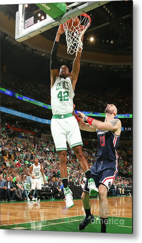 Playoffs Metal Print featuring the photograph Al Horford by Ned Dishman