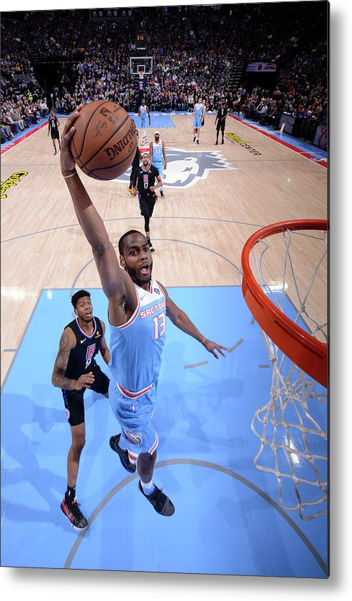 Nba Pro Basketball Metal Print featuring the photograph Alec Burks by Rocky Widner