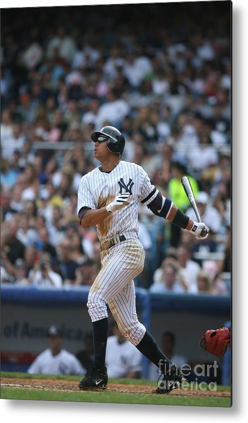 People Metal Print featuring the photograph Alex Rodriguez by Rich Pilling