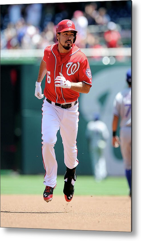 American League Baseball Metal Print featuring the photograph Anthony Rendon by Greg Fiume