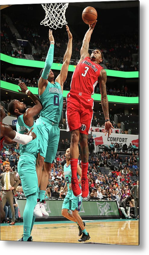 Nba Pro Basketball Metal Print featuring the photograph Bradley Beal by Kent Smith