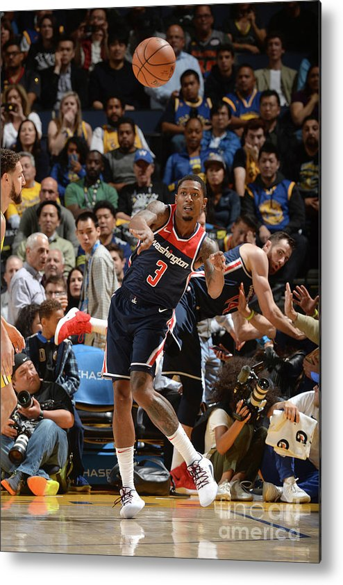 Nba Pro Basketball Metal Print featuring the photograph Bradley Beal by Noah Graham