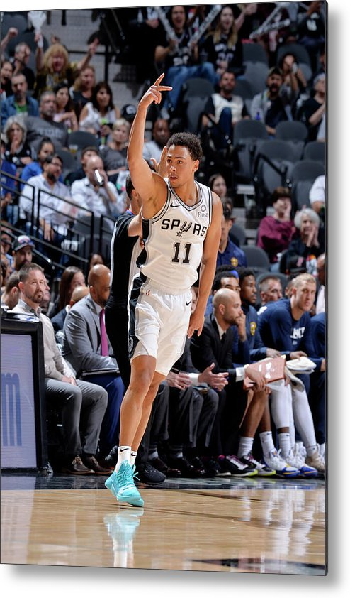 Playoffs Metal Print featuring the photograph Bryn Forbes by Mark Sobhani