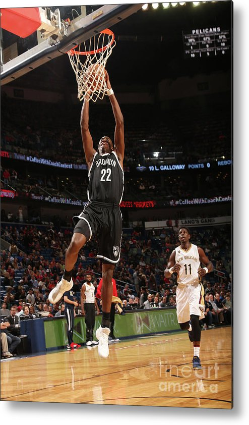 Smoothie King Center Metal Print featuring the photograph Caris Levert by Layne Murdoch
