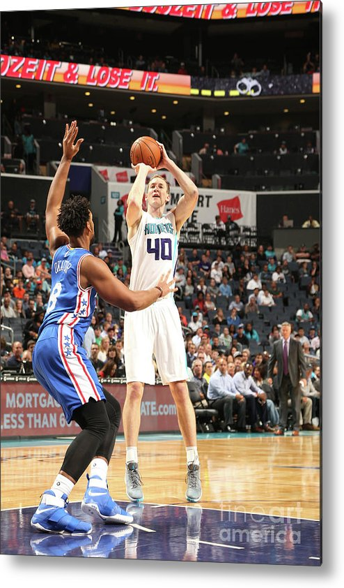Nba Pro Basketball Metal Print featuring the photograph Cody Zeller by Kent Smith