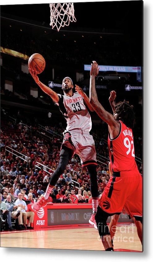 Nba Pro Basketball Metal Print featuring the photograph Corey Brewer by Bill Baptist