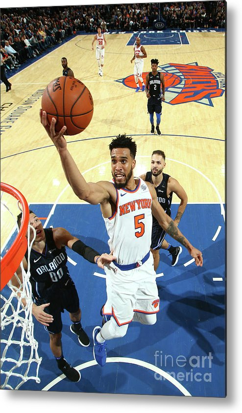 Nba Pro Basketball Metal Print featuring the photograph Courtney Lee by Nathaniel S. Butler