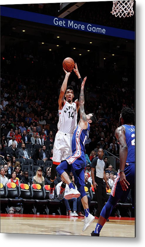 Nba Pro Basketball Metal Print featuring the photograph Danny Green by Mark Blinch