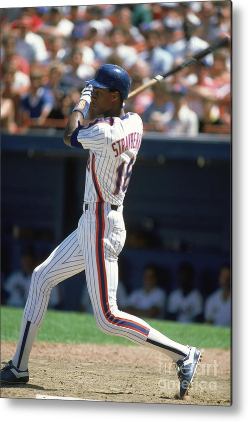 1980-1989 Metal Print featuring the photograph Darryl Strawberry by Rich Pilling