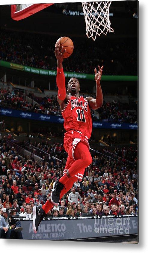 Nba Pro Basketball Metal Print featuring the photograph David Nwaba by Gary Dineen