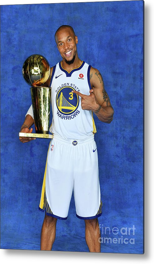 Playoffs Metal Print featuring the photograph David West by Jesse D. Garrabrant