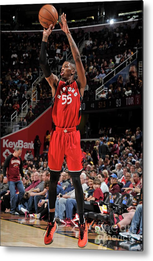Nba Pro Basketball Metal Print featuring the photograph Delon Wright by David Liam Kyle