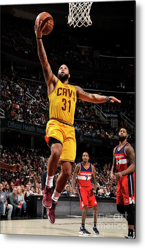 Nba Pro Basketball Metal Print featuring the photograph Deron Williams by David Liam Kyle