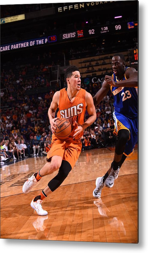 Nba Pro Basketball Metal Print featuring the photograph Devin Booker by Noah Graham