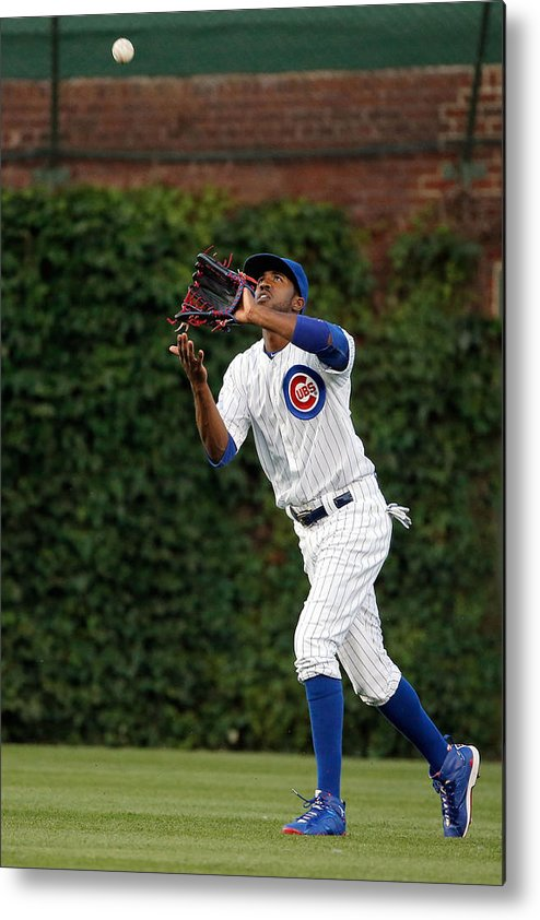 People Metal Print featuring the photograph Dexter Fowler by Jon Durr