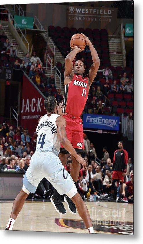 Nba Pro Basketball Metal Print featuring the photograph Dion Waiters by David Liam Kyle